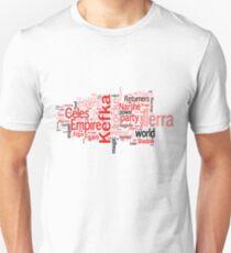 Final Fantasy VI Word Cloud Unisex T-Shirt