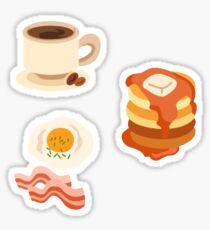 Breakfast Food Tri Pack Sticker