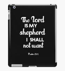Christliches Zitat iPad-Hülle & Klebefolie
