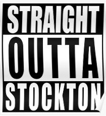 Nate Diaz Nick Diaz, Straight Outta Stockton Poster