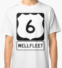 US 6 - Wellfleet Massachusetts Classic T-Shirt