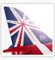 Red Arrows - 50th Display Season Sticker