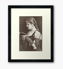 Then I Read Framed Print