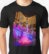 USA. Nevada. Las Vegas. Treasure Island. Tall Ship. T-Shirt