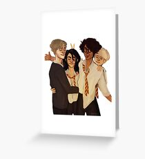Marauders Greeting Card