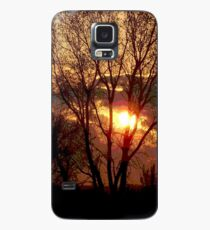 End of a Golden day. Case/Skin for Samsung Galaxy