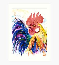RICKY ROOSTER Art Print