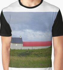 The Red Roofed Barn Graphic T-Shirt