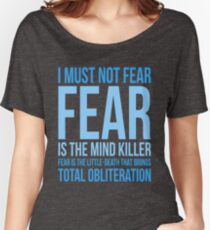 Litany Against Fear (short) Women's Relaxed Fit T-Shirt
