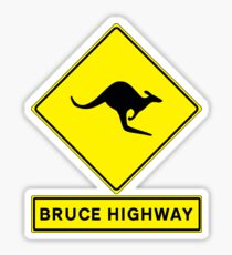 Bruce Highway - Australia's Ocean Road! Sticker