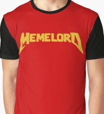 MEMELORD (Gold Version) Graphic T-Shirt