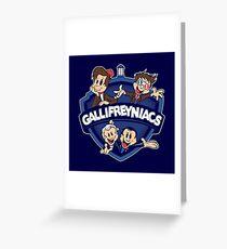 Gallifreyniacs Greeting Card