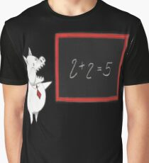 2 + 2 = 5 Graphic T-Shirt