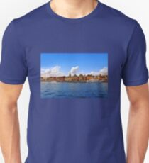 Panorama of Gamla Stan in Stockholm, Sweden Unisex T-Shirt