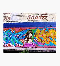 Graffiti As Art - Photographic Print