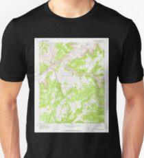 USGS TOPO Map Arizona AZ Red Willow Spring 313076 1970 24000 Unisex T-Shirt