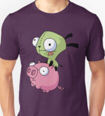 Gir Riding Pig  T-Shirt