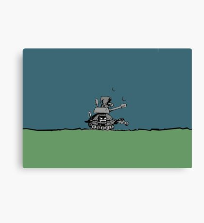 War-Turtle VRS2 Canvas Print