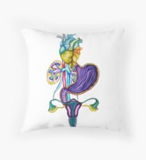 Organs Throw Pillow