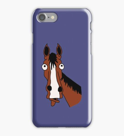 Why the long face? iPhone Case/Skin