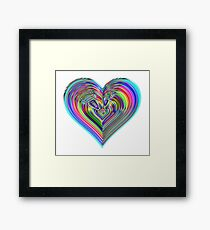 Love is in the air Framed Print