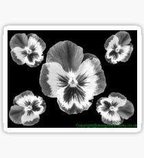 cinq fleur Sticker