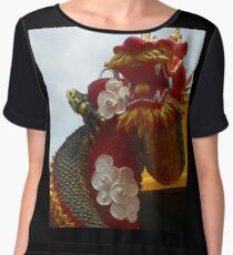 Swagger Dragon Chiffon Top