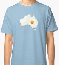 Fried Egg Cartography - Australia 2 Classic T-Shirt