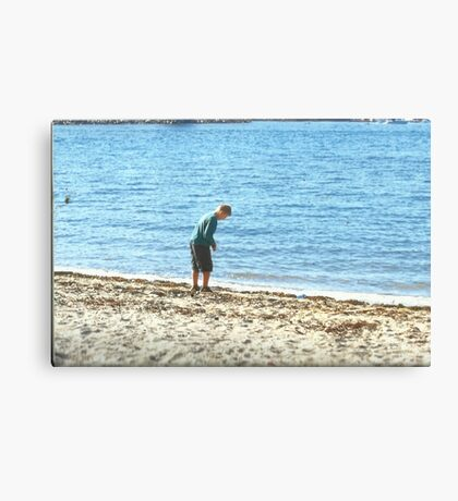 Beach Boy Canvas Print