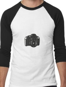 A Camera is a Way to Capture Moments Forever Men's Baseball ¾ T-Shirt