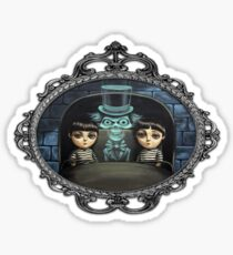 Hitchhiking Ghost Sticker
