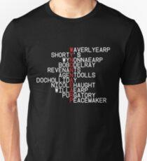 Wynonna Earp - Concept Logo ; T-Shirt