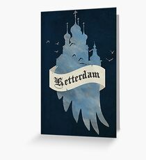 Ketterdam from Six of Crows Greeting Card