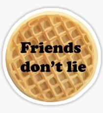 FRIENDS DON'T LIE- stranger things Sticker