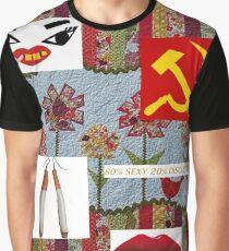 KATYA ZAMOLODICHIKOVA COLLAGE Graphic T-Shirt