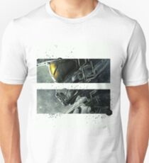 Halo Master Chief Art T-Shirt Illusions Most Popular T-Shirt