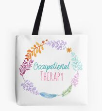 Occupational Therapy Wreath Tote Bag