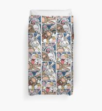 Awesome Bunnies Photobooth Series Duvet Cover