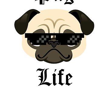 Pug Life by Kryshalis
