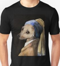 Baxter with the Pearl Earring T-Shirt