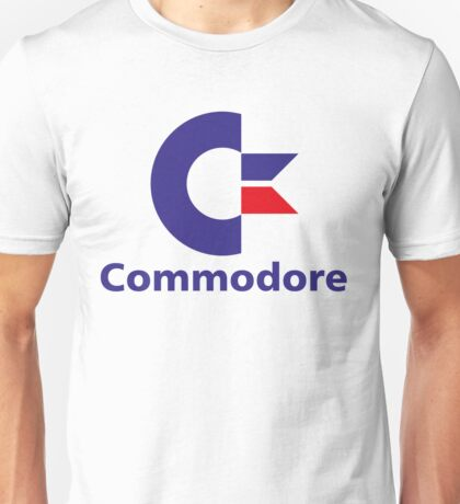 Commodore Retro Logo T-shirt for Men or Women