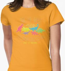 Dino Collection Womens Fitted T-Shirt