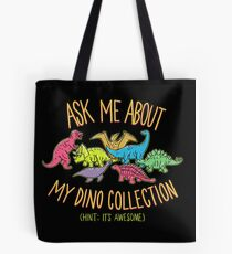 Dino Collection Tote Bag