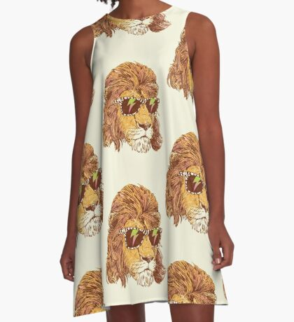 King Of The '80s A-Line Dress
