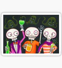 Halloween Happy Hour Sticker