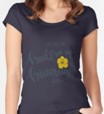 buttercup Women's Fitted Scoop T-Shirt