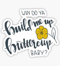 buttercup Sticker