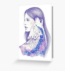 Cosmic Love Greeting Card