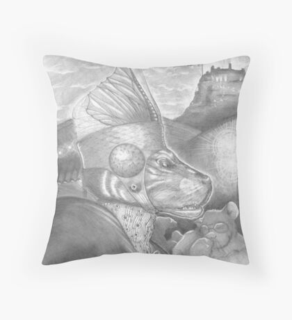 The Merchant Prince Throw Pillow
