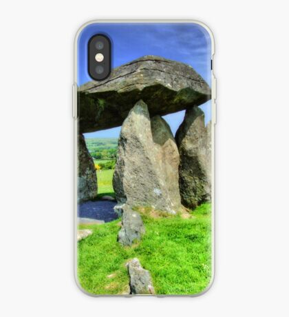 Ancient Burial Chamber in Mid - North Wales (UK) iPhone Case